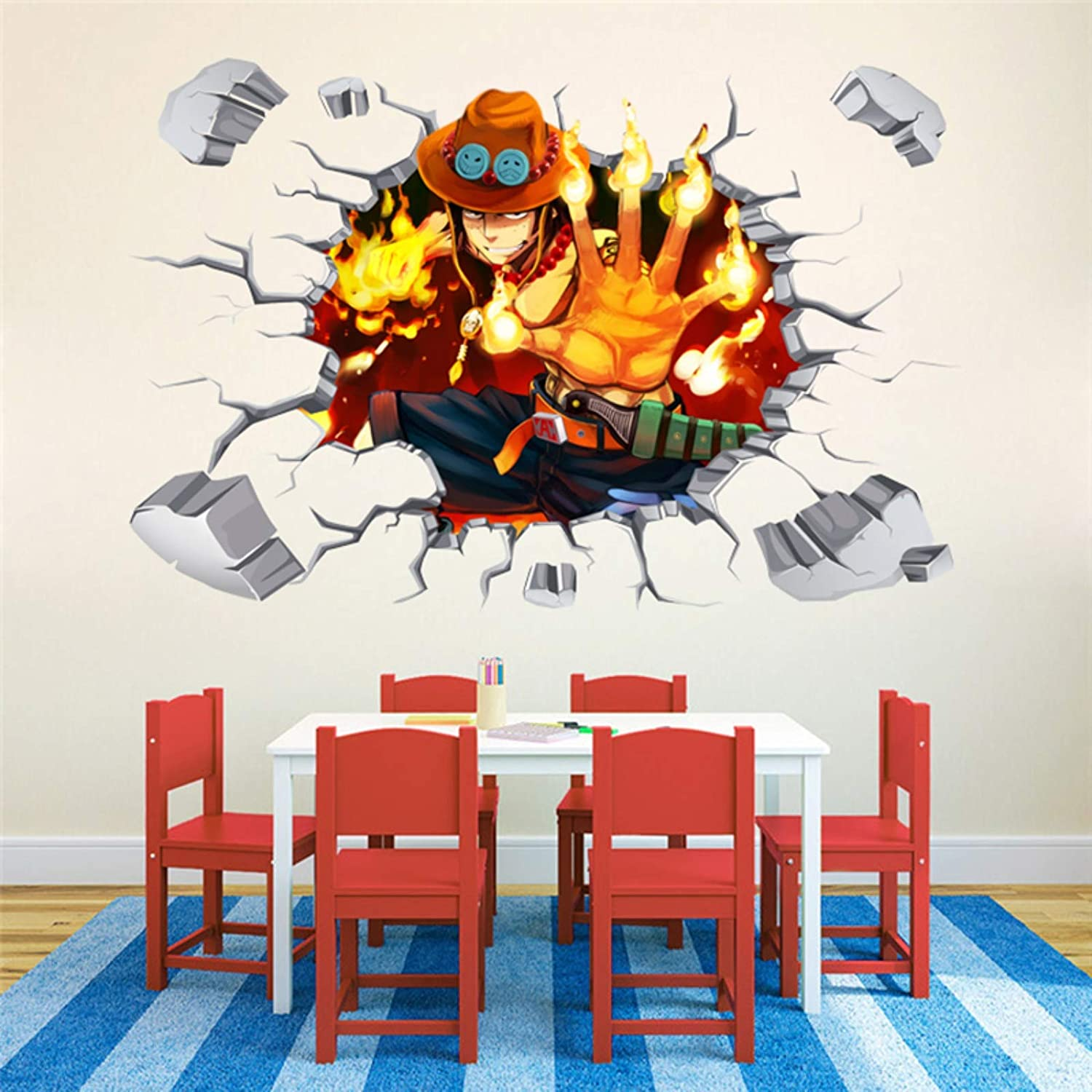 Amazoncom Tto One Piece Wall Sticker 9060cm One Piece