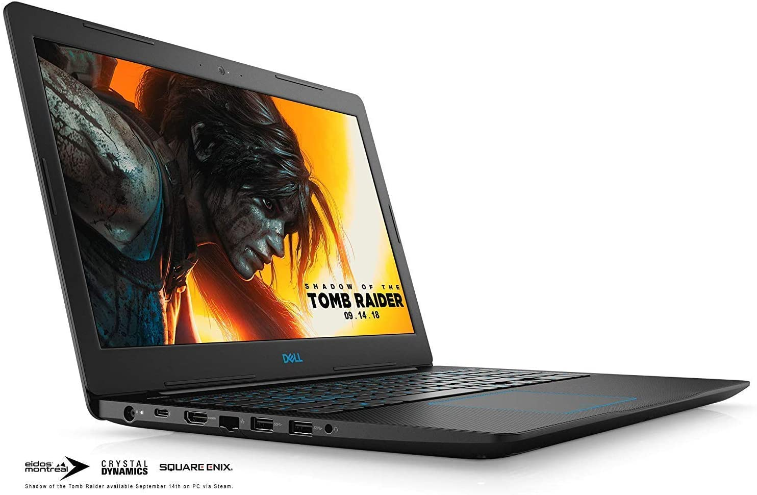 "Dell G3 15 3579 Gaming Laptop Premium 2019, Intel Quad-Core i5-8300H, 15.6"" FHD IPS Display, 12GB DDR4, 256GB PCIe SSD, HDMI Backlit KB MaxxAudio Thunderbolt USB-C WiFi 4GB GeForce GTX 1050Ti Win 10"