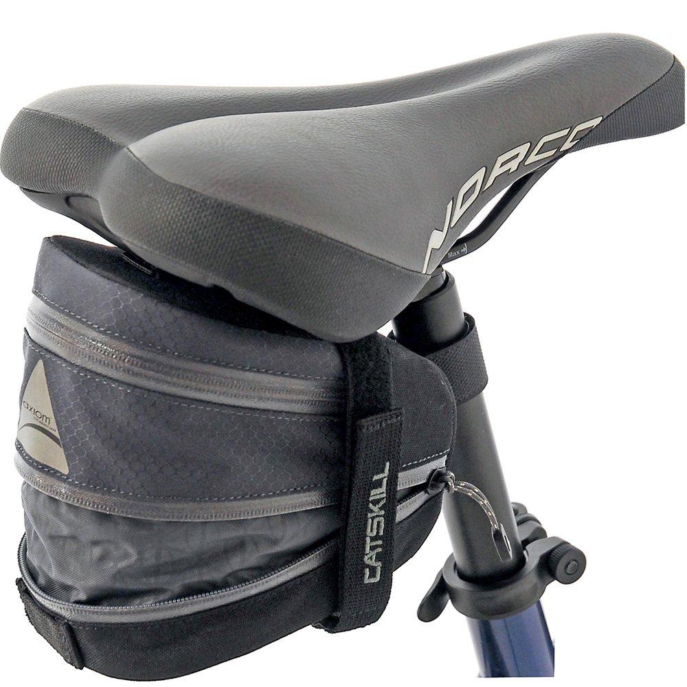 Axiom Catskill LX Seat Bag, Grey/Black by Axiom (Image #1)