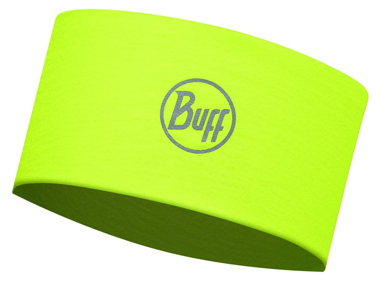 Buff UV Headband R Multifunktionstuch Solid Yellow Fluor One Size Original Buff S.A.