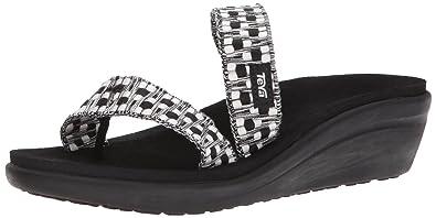 30af1b291c Amazon.com | Teva Womens W Voya Loma Wedge Flip-Flop | Platforms ...