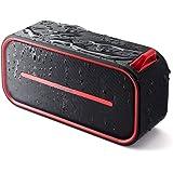サンワダイレクト Bluetoothスピーカー ポータブル 防水&防塵認証 Bluetooth4.2 microSD対応 6W 1200mAh レッド GSP069R