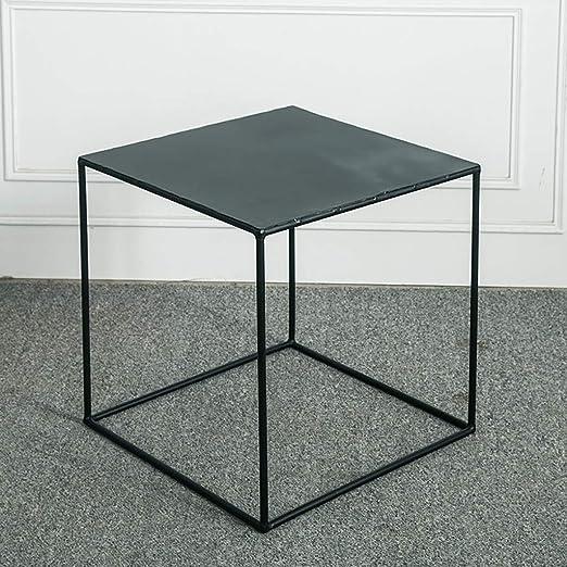 Pequeña mesa de anidación cuadrada Mesa de café Dormitorio de ...