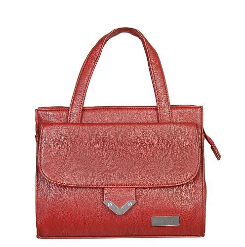 c22c72471d Louise Belgium Designer Handbag for Women- Red  Amazon.in  Shoes ...