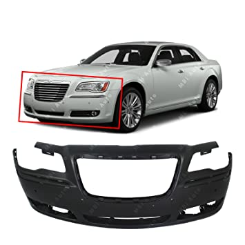 MBI Auto - primered, Front Bumper Cover Fascia para 2011 2012 2013 2014 Chrysler 300 W/parque 11 12 13 14, ch1000 a01: Amazon.es: Coche y moto