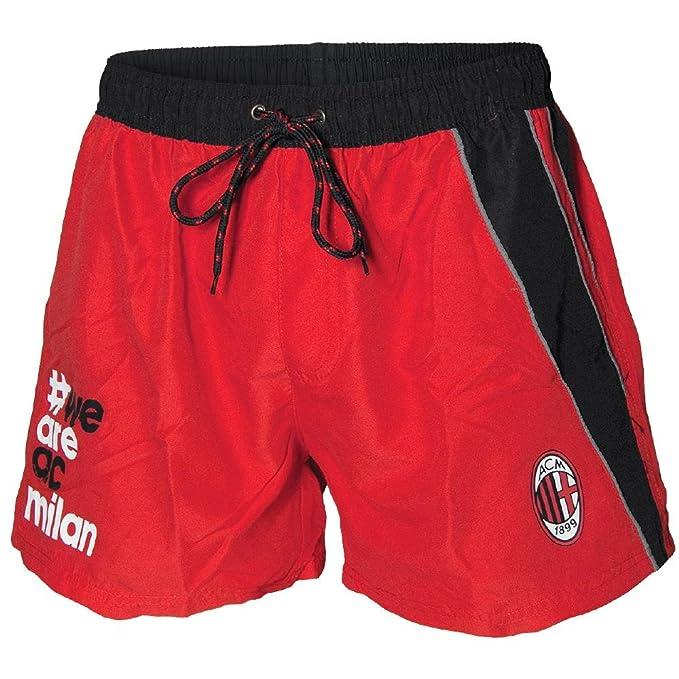 433d76bbef AC Milan Costume da Bagno Uomo Pantaloncini Mare Piscina ACM Milan PS  27342: Amazon.it: Abbigliamento