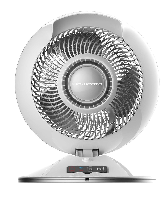 Rowenta HQ7112F0 Air Force Hot & Cool Calefactor y ventilador Multifunción, flujo de aire silencioso, modo automático, hasta 45 m², seguridad reforzada y ...