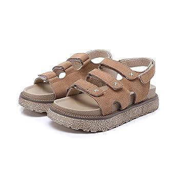 Frauen Sandalen Sommer Strand Schuhe Mode Klett dicke Sohle Hausschuhe  Flip Flops Schuhe (schwarz Khaki Rosa...