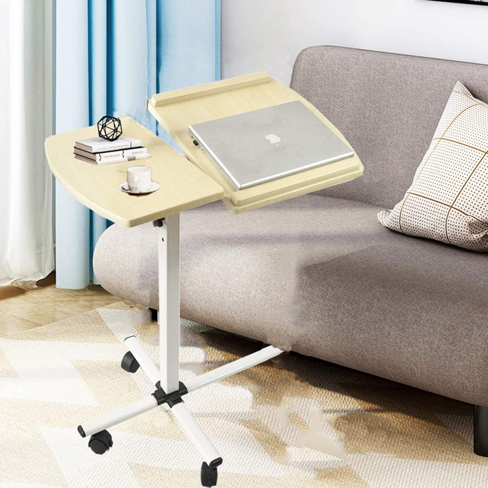 Writing Study Laptop Tray Table Couch Table Bed Desk Reading Stand Eating Storage Laptop Longshun Adjustable Laptop Stand for Bed /& Sofa