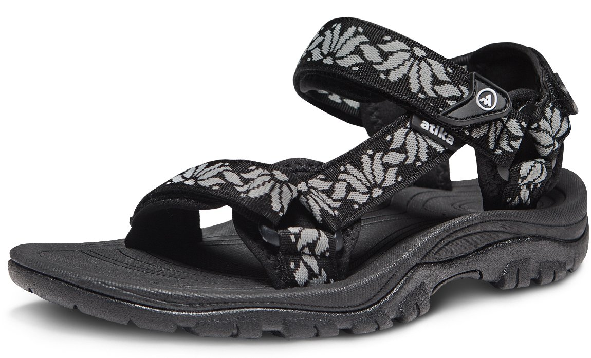 ATIKA AT-W111-KWH_Women 8 B(F) Women's Maya Trail Outdoor Water Shoes Sport Sandals W111