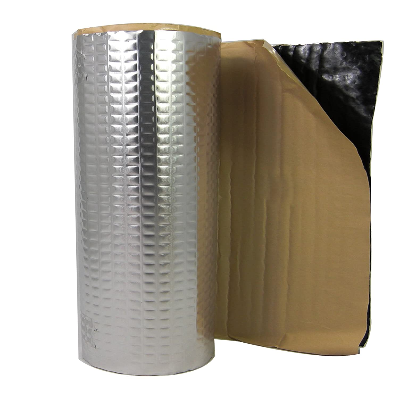 2m² ALUBUTYL Tappetino isolante anti-rimbombo in sostituzione del bitume, 50 x 400 cm per il rivestimento dello stereo nella portiera dell'auto 50 x 400 cm per il rivestimento dello stereo nella portiera dell'auto IGeK