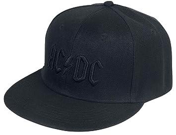 AC/DC Black Logo - Snapback Cap Gorra Negro: Amazon.es: Deportes y ...