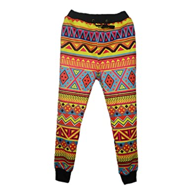 Pivaconis Men's Joggers Pants Patterned Jogging Pants At Amazon Custom Mens Patterned Joggers