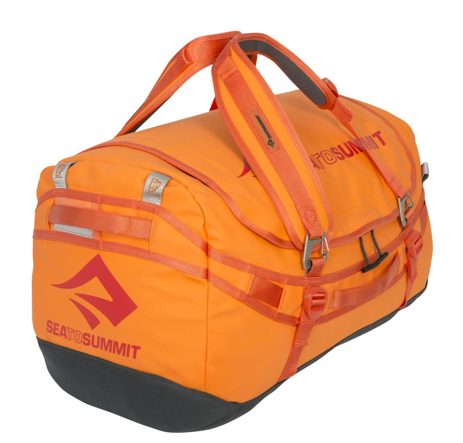 Sea to Summit Nomad Durable Travel Duffle & Backpack, Orange, 65 L