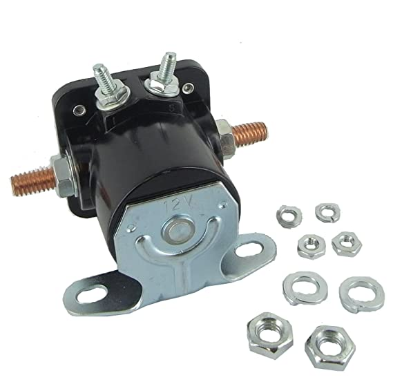 Amazon.com: Ford 12 Volt SW3 Starter Solenoid Relay: Automotive
