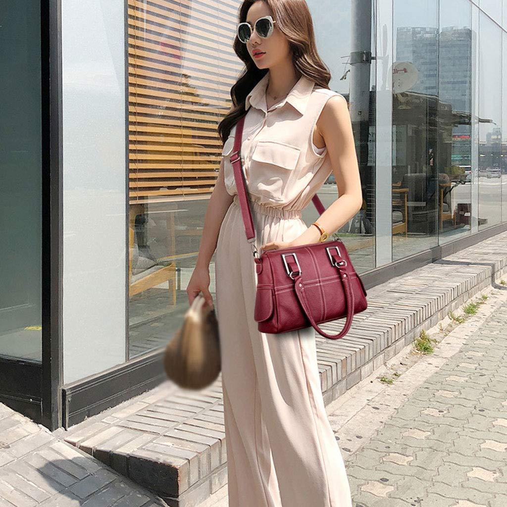 YangMi YangMi YangMi Handtasche- Mode 2019 Neue Damen Tasche umhängetasche Wilde Handtasche Retro Flut Tasche umhängetasche (Farbe   rot, größe   12x22x32cm) B07PFZ3MSL Umhngetaschen Stilvoll und charmant 8f3b08