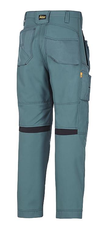 design innovativo 884f6 31025 verde Snickers Workwear 6201 allroundwork pantaloni da ...