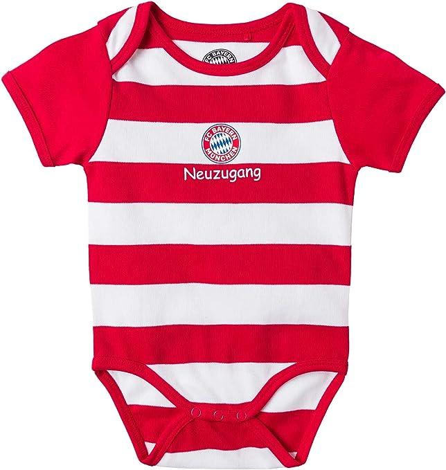 FC Bayern München - Body para bebé, niño, rojo, 86/92: Amazon.es: Deportes y aire libre