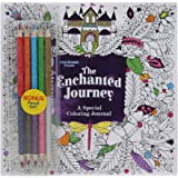 Colorama The Enchanted Journey, A Special Coloring Journal, Write and Color by