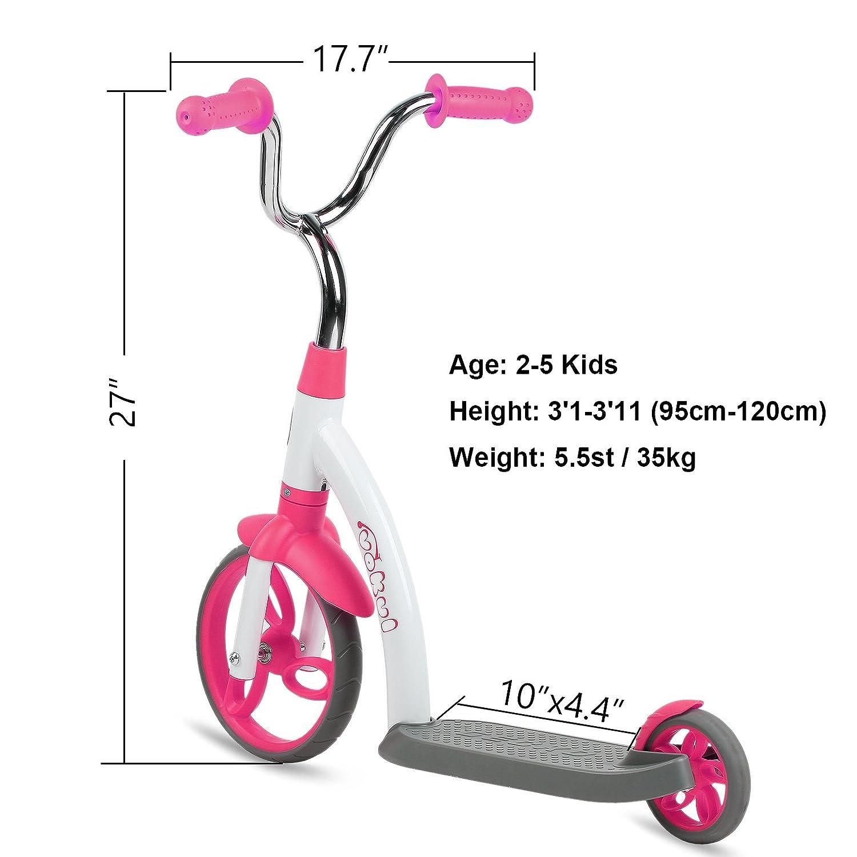 Vokul Gx01 2 Ruedas Patinetes Scooter para Niños Edad 2+ ...