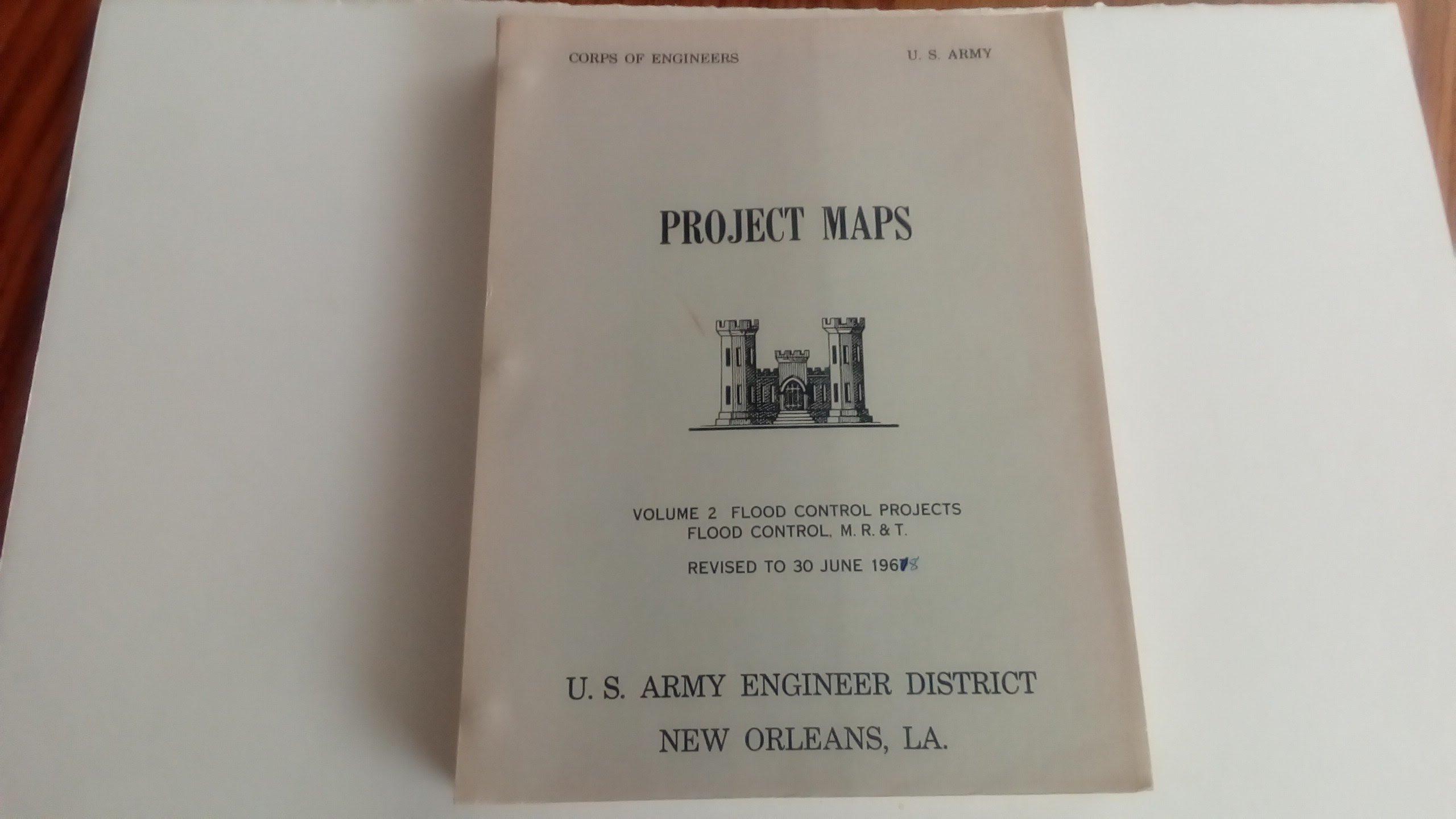 Project Maps U.S. Army Volume 2 Flood Control Projects Flood Control ...