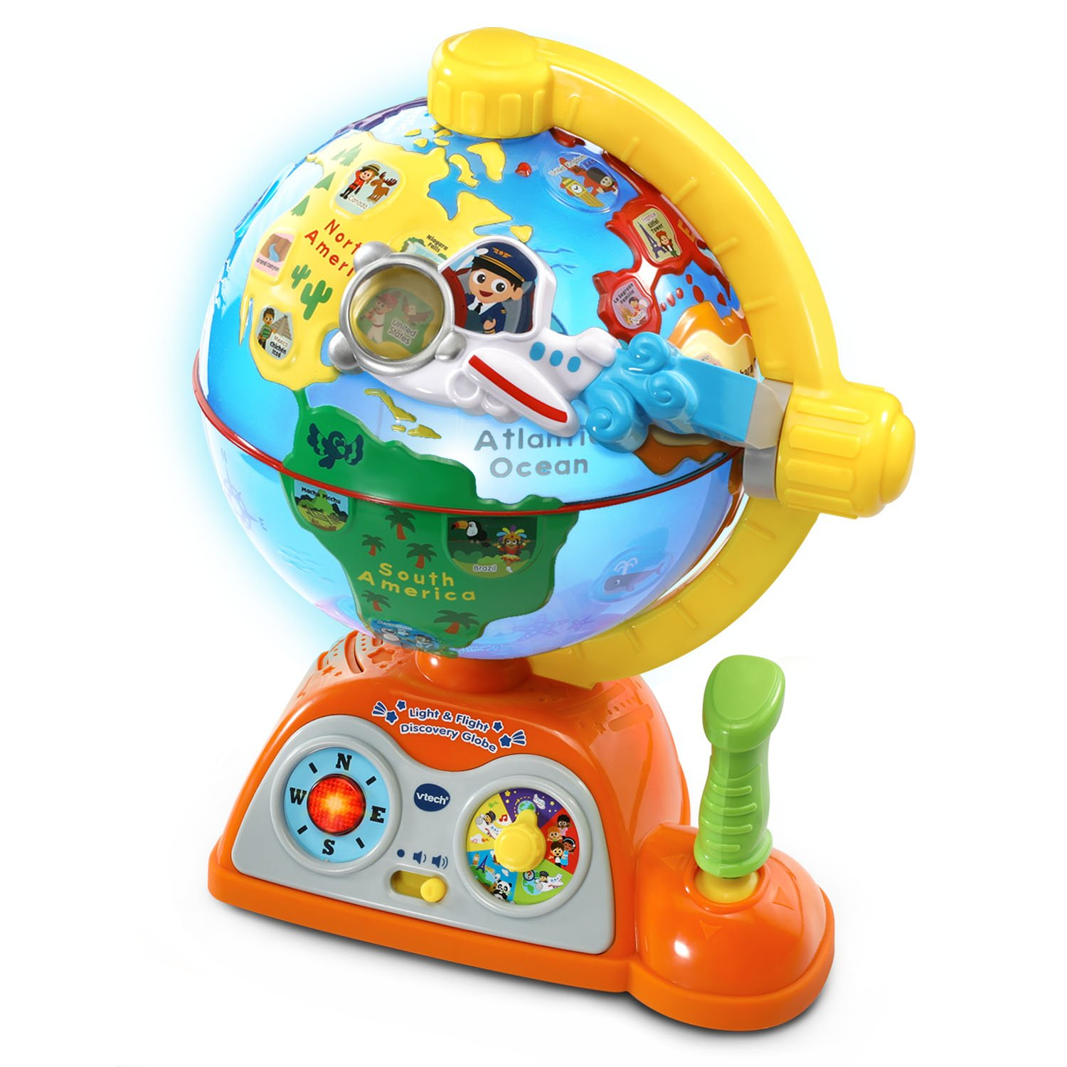 VTech Light and Flight Discovery Globe Amazon Exclusive by VTech (Image #5)