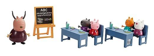 398 opinioni per Giochi Preziosi PPC10000 Peppa Pig Gioco La Classe di Peppa, Set con 5