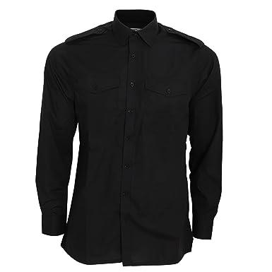 6343ce32994 Amazon.com  KUSTOM KIT Mens Long Sleeve Pilot Shirt  Clothing