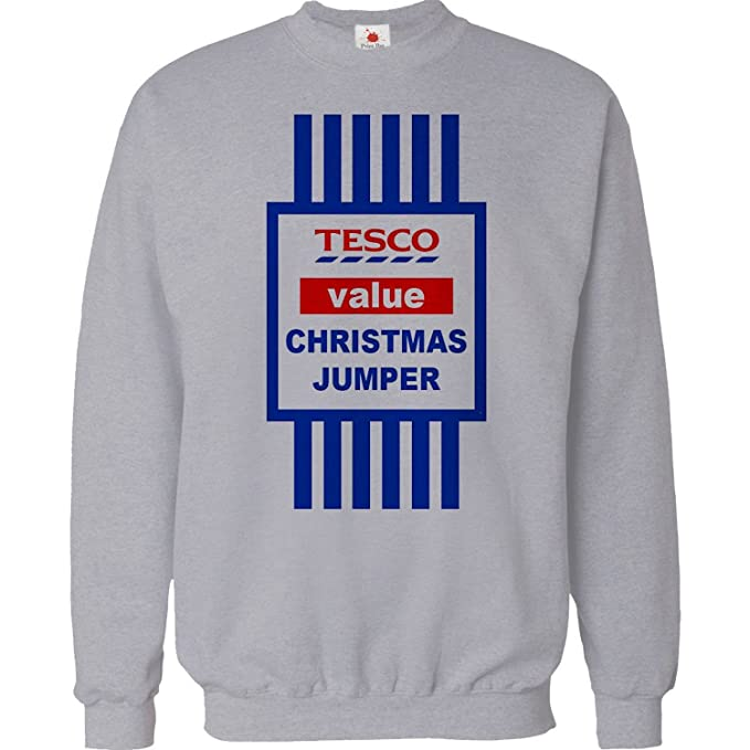 941ee4f4ad90 CHRISTMAS JUMPER SWEATER MENS FUNNY TOPS TESCO VALUE SWEAT SHIRT ...