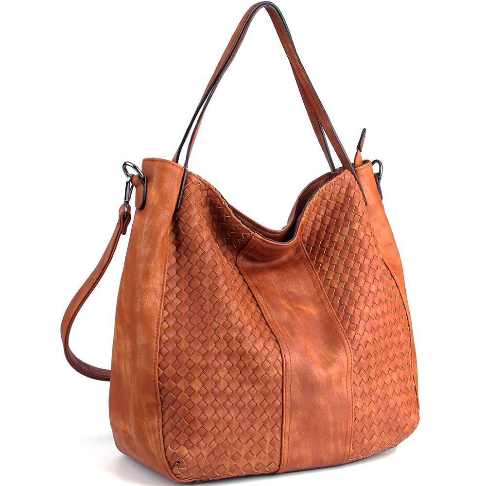 WISHESGEM Women Handbags Top-Handle Fashion Hobo Tote Bags PU Leather Shoulder Satchel Bags