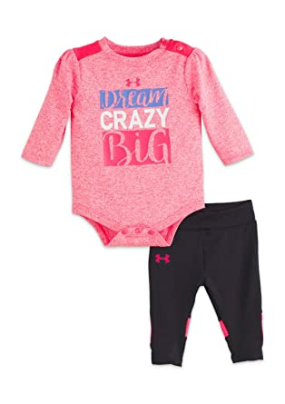 Amazon.com  Under Armour Girls  Bodysuit and Legging Set  Clothing eb5a0553e
