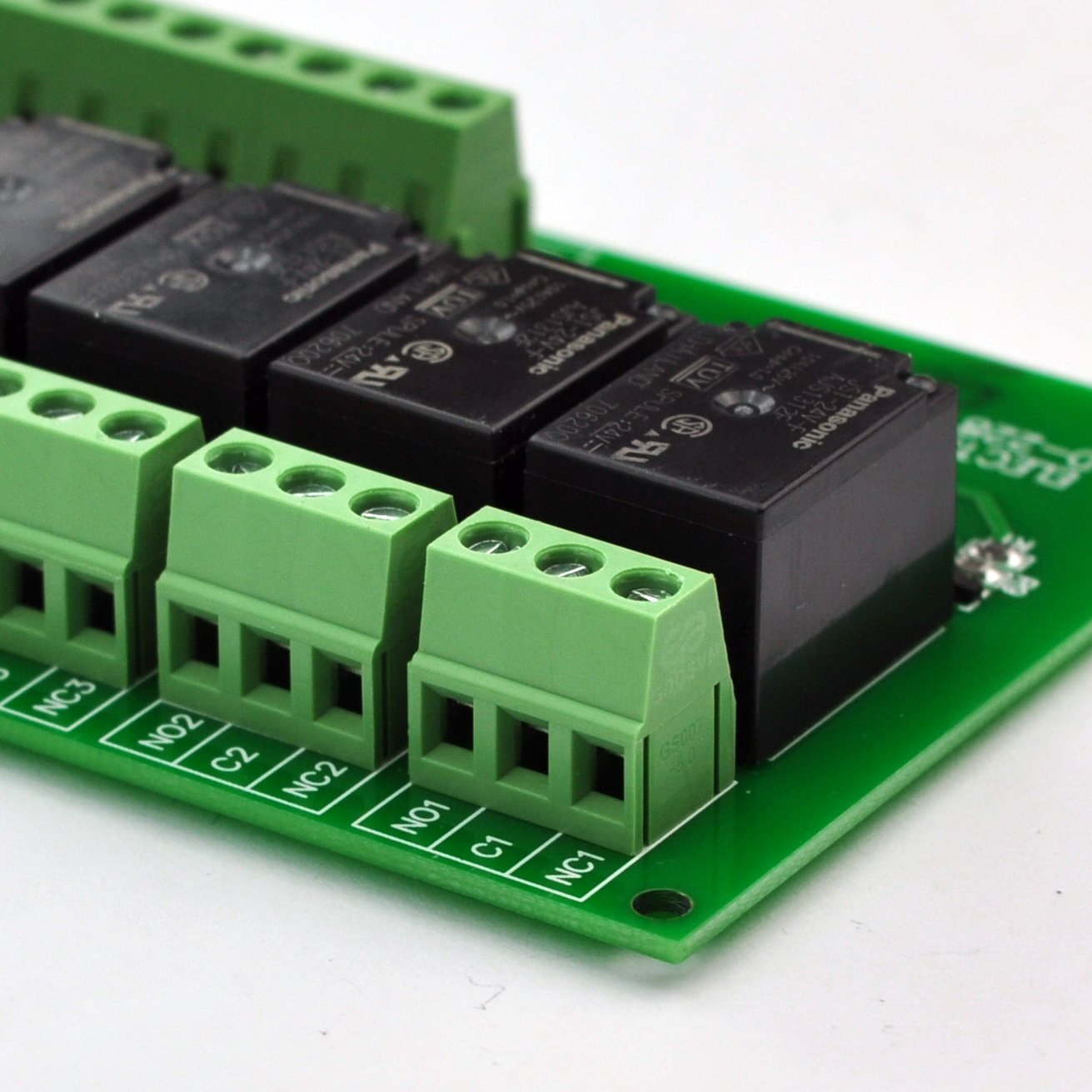 Operating Voltage: DC 24V Electronics-Salon 8 Channel 10Amp SPDT Power Relay Module Board