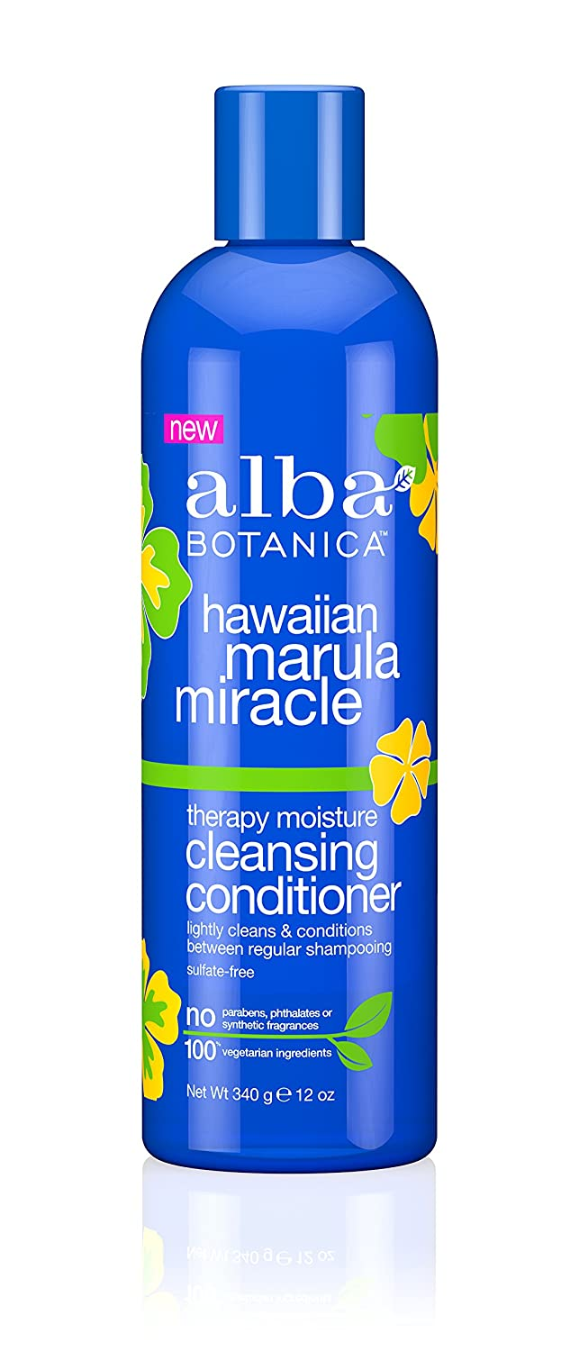 Alba Botanica Drink It Up Coconut Milk Hawaiian Conditioner, 12 oz. 50731-BA