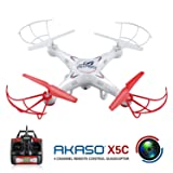 Akaso X5C 4CH 2.4GHz 6-Axis Gyro Headless RC