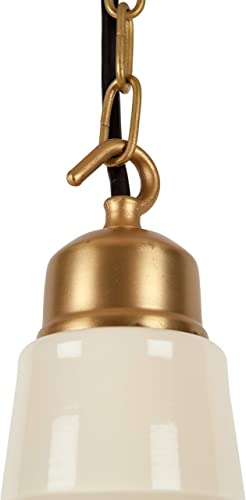 Light Society Grimsby Pendant Light in Ivory LS-C221-IVR