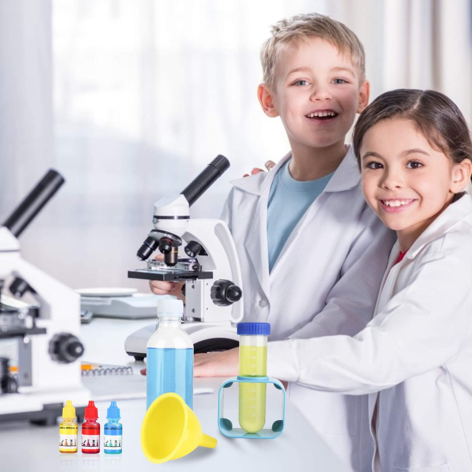 78 Science Experiments Set Educational Learning Science Toys Great Gifts for Hours of Fun Funspread Toys for 6 Year Old Boys Girls Science Kit for Kids