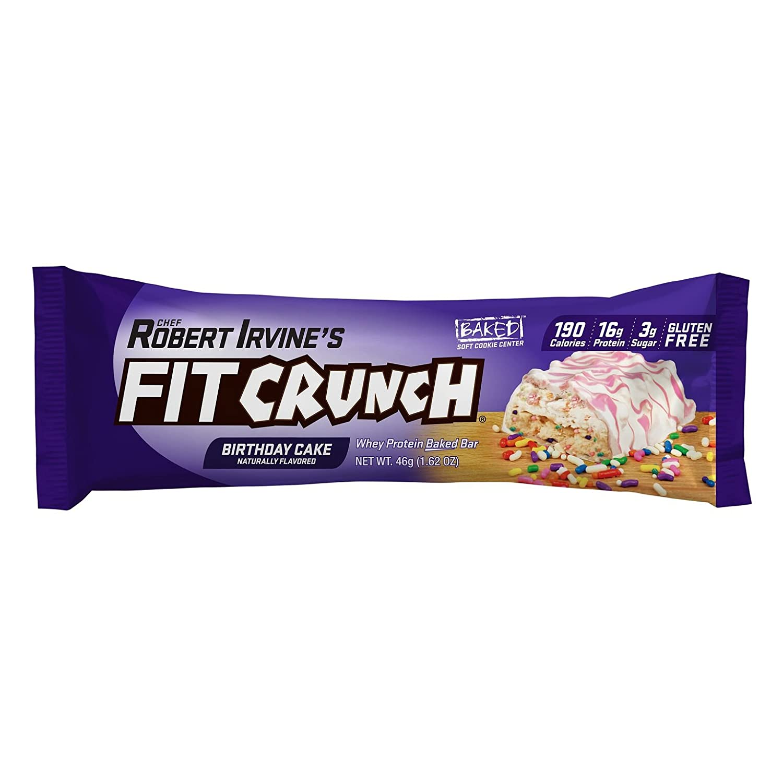 Amazon FITCRUNCH Snack Size Protein Bars