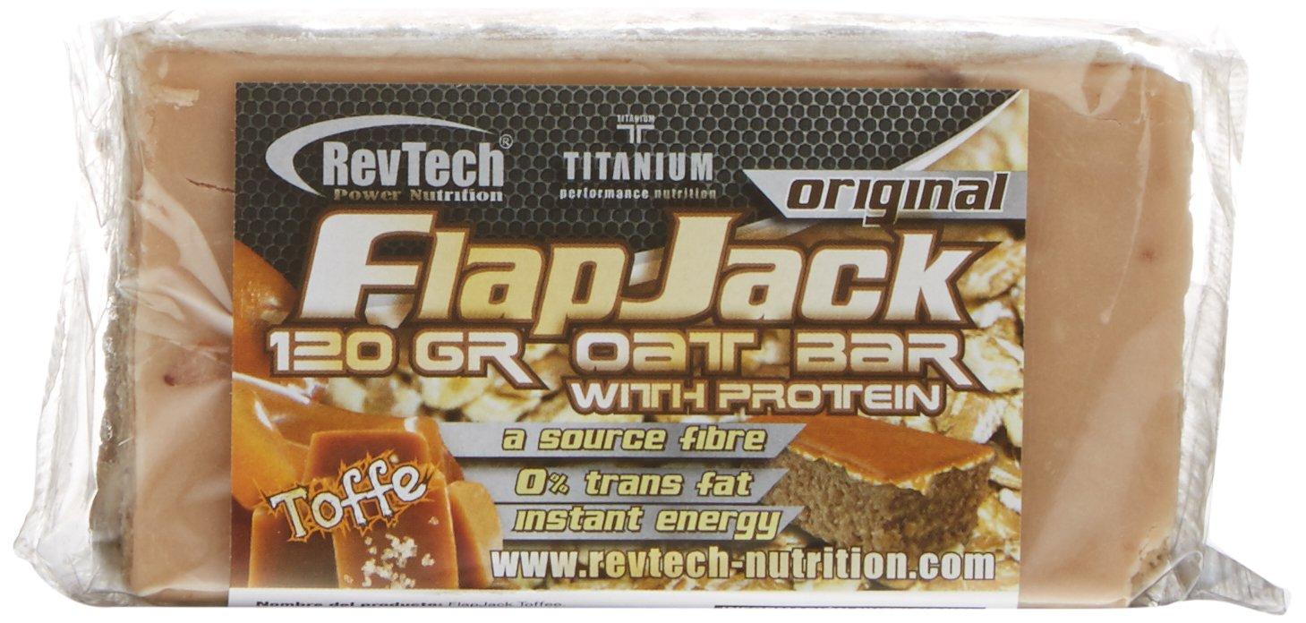 Revtech Flapjack, Suplemento para Deportistas, Sabor a Toffee - 24 Flapjacks: Amazon.es: Salud y cuidado personal
