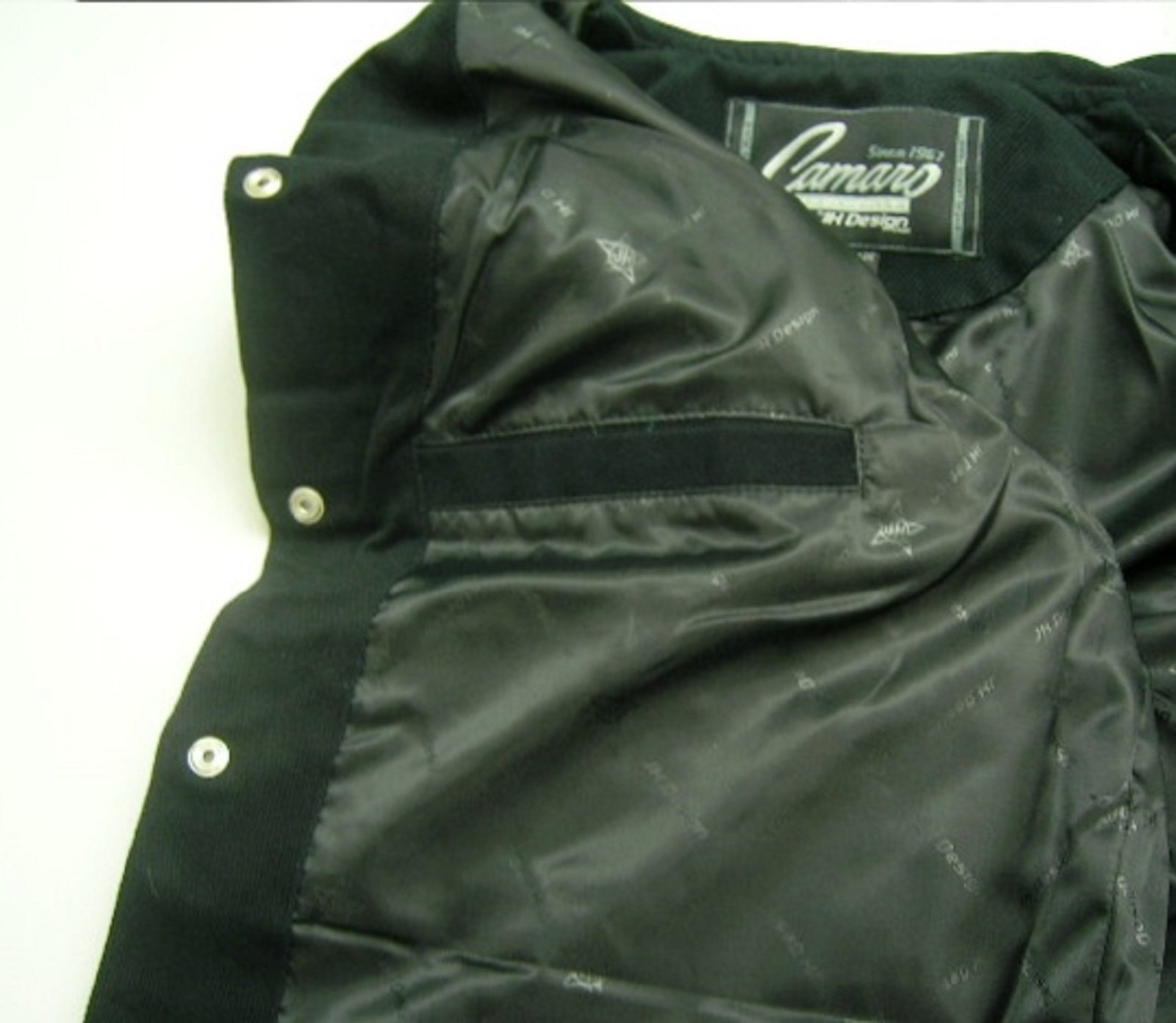 J.H. Design JH Design Chevy Camaro Cotton Twill Jacket, XXX-Large, Black by J.H. Design (Image #4)