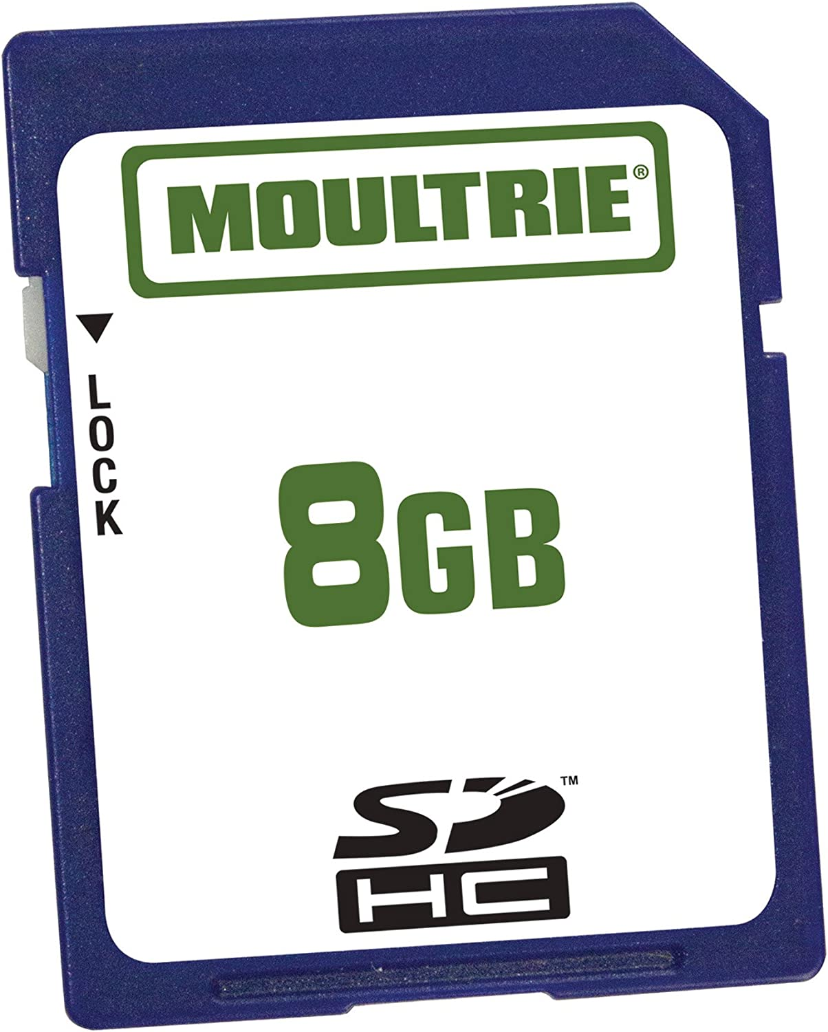 8-Pack Moultrie 8GB SD Memory Card 8GB SD Memory Card