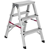Nawa Escalera tijera doble acceso de aluminio 3