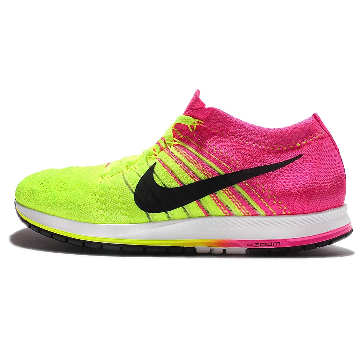 shades of fashion style lace up in Nike Men's Flyknit Streak, Multi-Color/Multi-Color, 12 M US