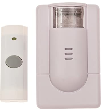 Security2020 Wc180 Wireless Door Chime With Flashing Strobe Light Doorbell Kits