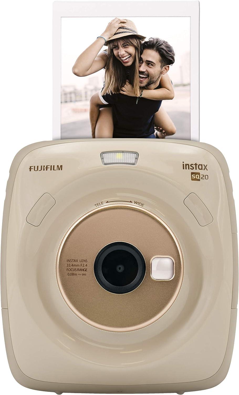 Fujifilm Instax Square Sq 20 Hybride Sofortbildkamera Kamera