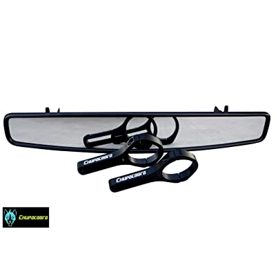 "Chupacabra Offroad 15"" Rear View Mirror - RZR 800 900 1000 Turbo 1.75"" Mount: Automotive"