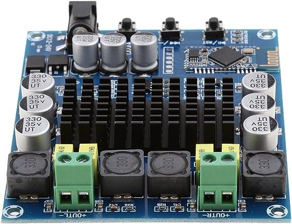 P Prettyia Amplificador De Audio Esté De Doble Canal 120w + 120w Tpa3116d2 Csr 4.0