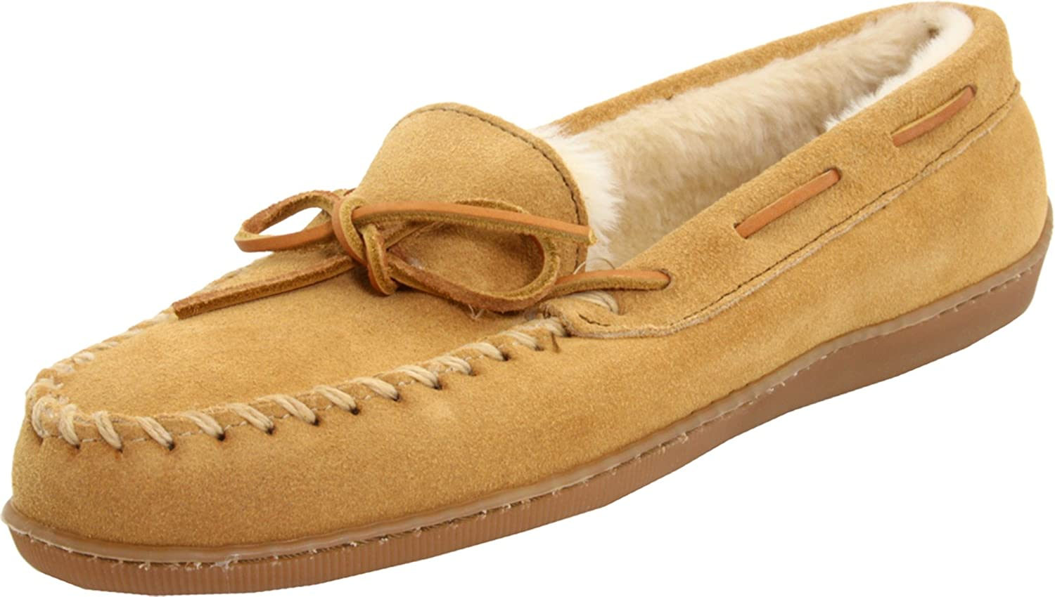 Minnetonka Women's Hardsole Pile Lined Slipper