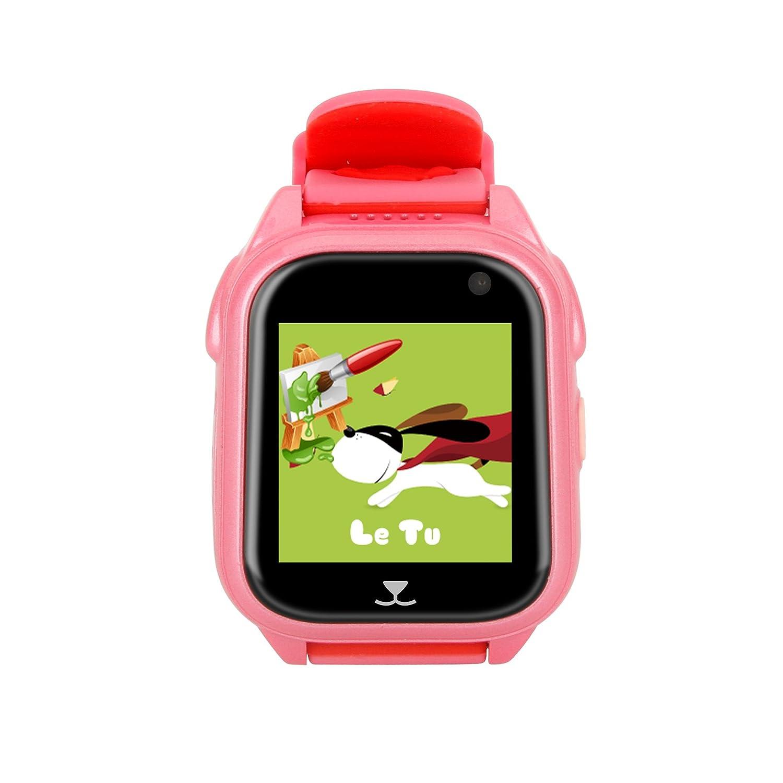 Smartwatch Niños con Camara Relojes Deportivos Niños Reloj Smartwatch Niños con Cámara y Album de Fotos Pulsera de Actividad Inteligente Despertador (Rosa): ...