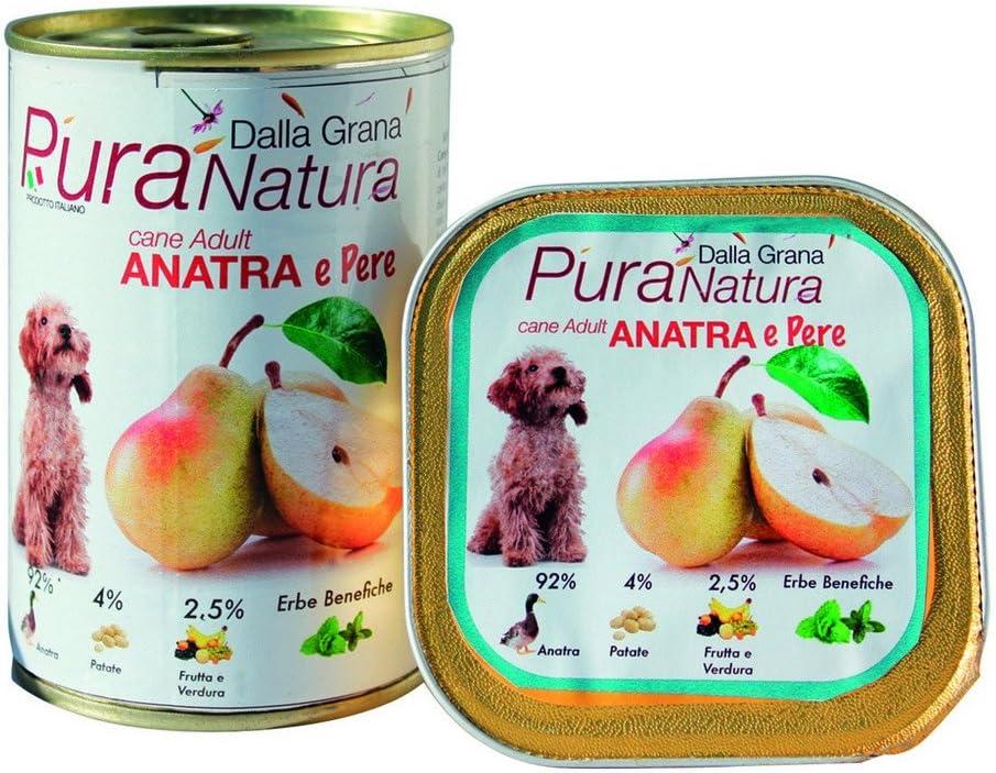 PURA NATURA Peras Duck grano húmedo libre de perro: Amazon.es: Jardín
