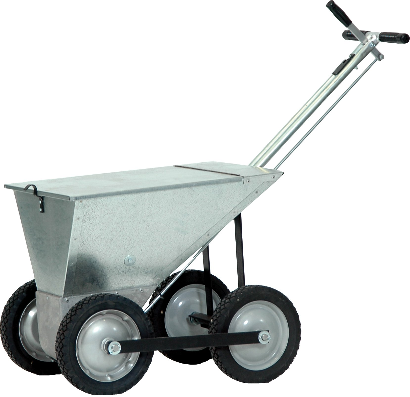 Champion Sports 4-Wheel Pro Steel Dry Line Marker (85-Pounds Capacity)